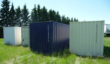 Storage Container Red Deer